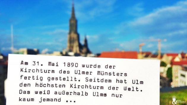Happy Birthday höchster Kirchturm der Welt