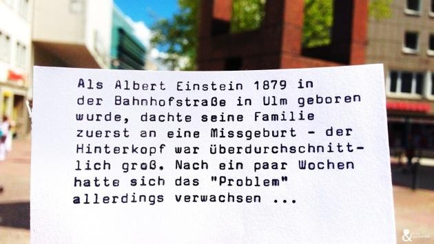 Albert Einstein: Es begann mit einer Missgeburt