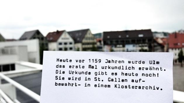 Nabada + Geburtstag der Stadt Ulm = Wunderschöner Tag!