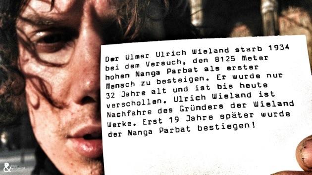 Philipp ist Bergsteiger und präsentiert den Spickzettel der Woche