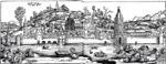 Ulm im Jahr 1490