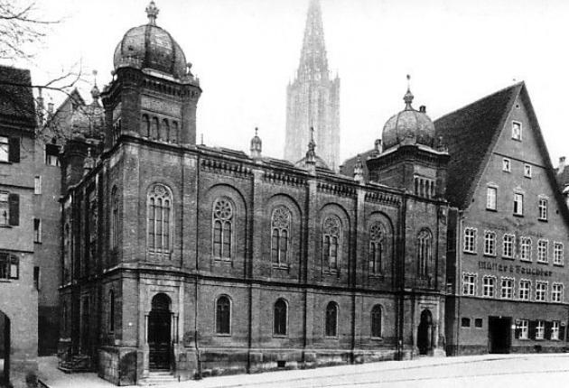 Die alte Syangoge wurde 1873 eingeweiht