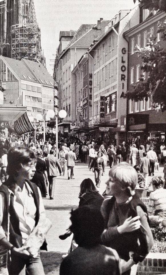 Die Hirschgasse in den 70ern