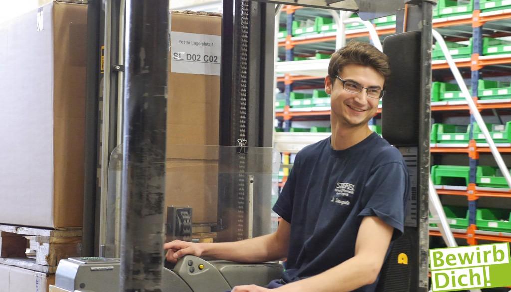 Fachkraft für Lagerlogistik bei der Stiefel GmbH in Burlafingen