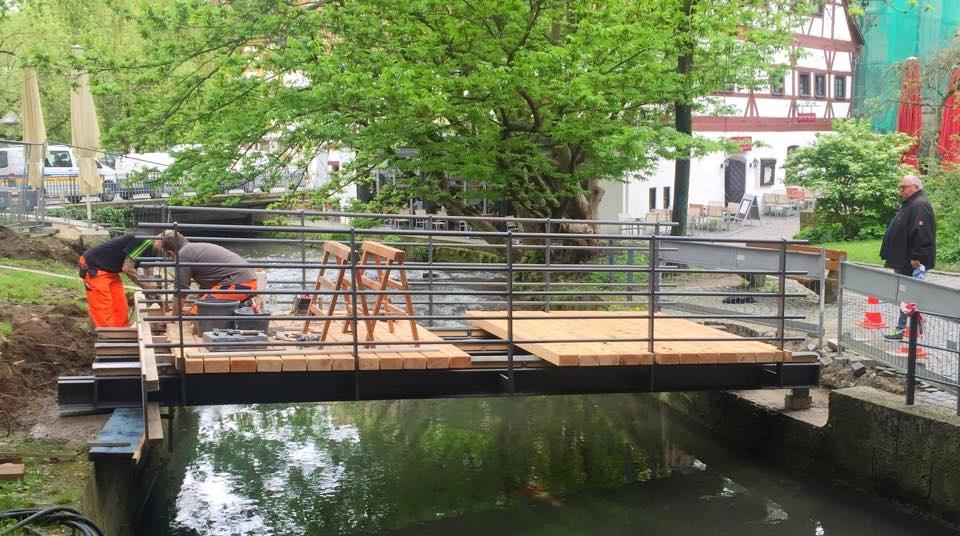 Ulm hat jetzt eine Brücke mehr!