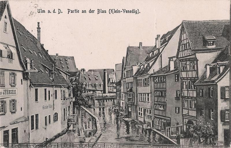 Klein-Venedig – so wurde das Fischerviertel früher genannt