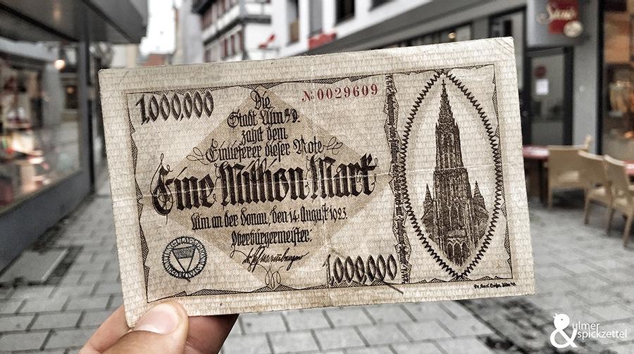 Ein Brot für 50 Millionen Mark! Und so kam es dazu: