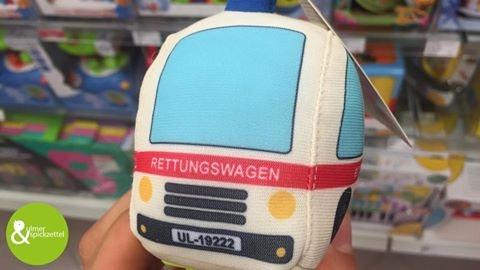 Autos bei Müller haben natürlich ein Ulmer Nummernschild