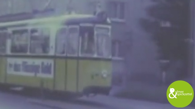 Die Ulmer Straßenbahn im Jahr 1979