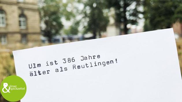 Mit freundlichen Grüßen nach Reutlingen
