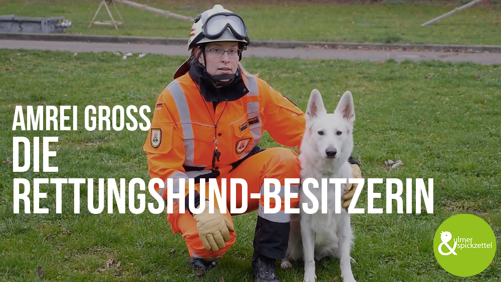 Amrei Groß: Die Rettungshund-Besitzerin