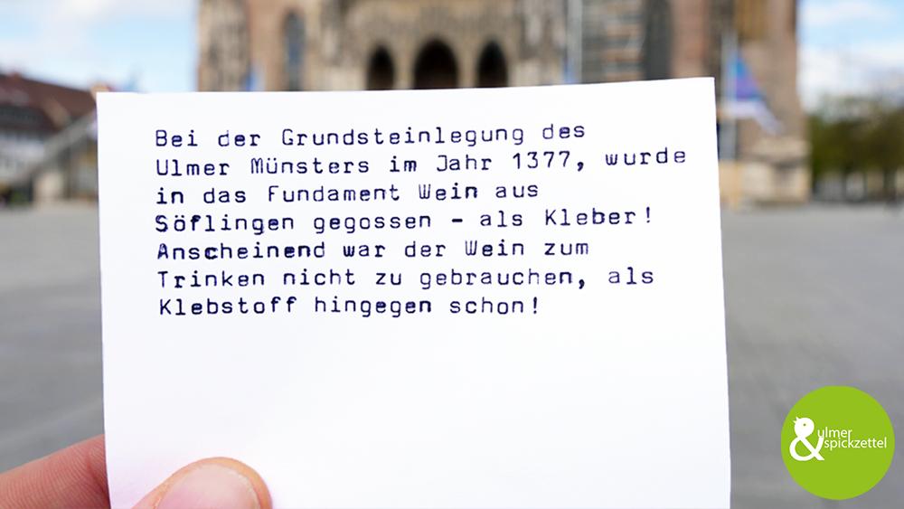 Deshalb steht das Ulmer Münster schon so lange!