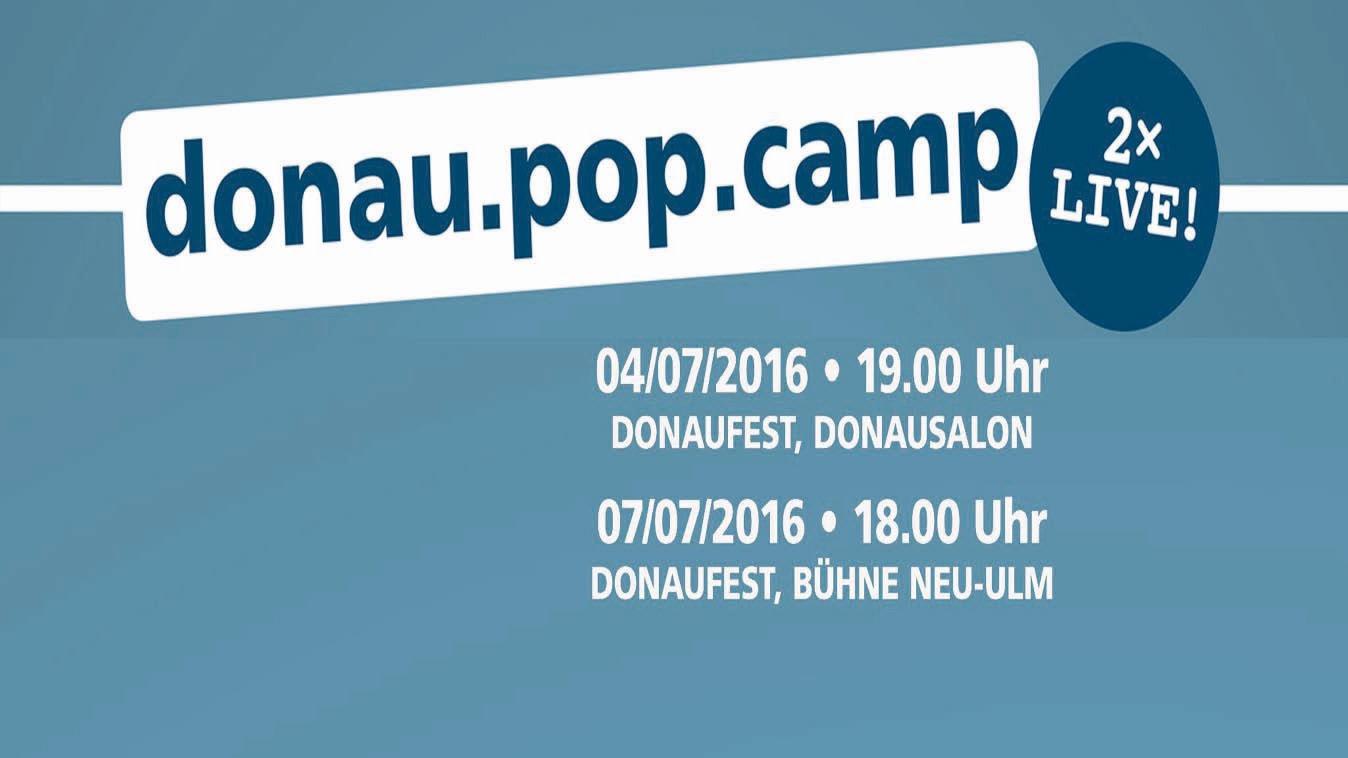 Das donau.pop.camp geht in die dritte Runde