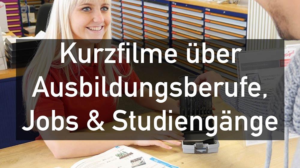 Kurzfilme über Ausbildungsberufe in Ulm & der Region