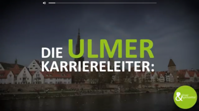 Die Ulmer Karriereleiter