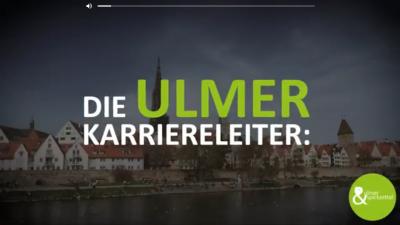 Die Ulmer Karriereleiter