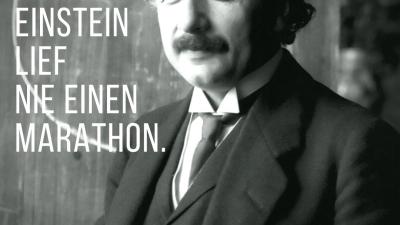 Albert Einstein war nicht gerade als Sportskanone bekannt
