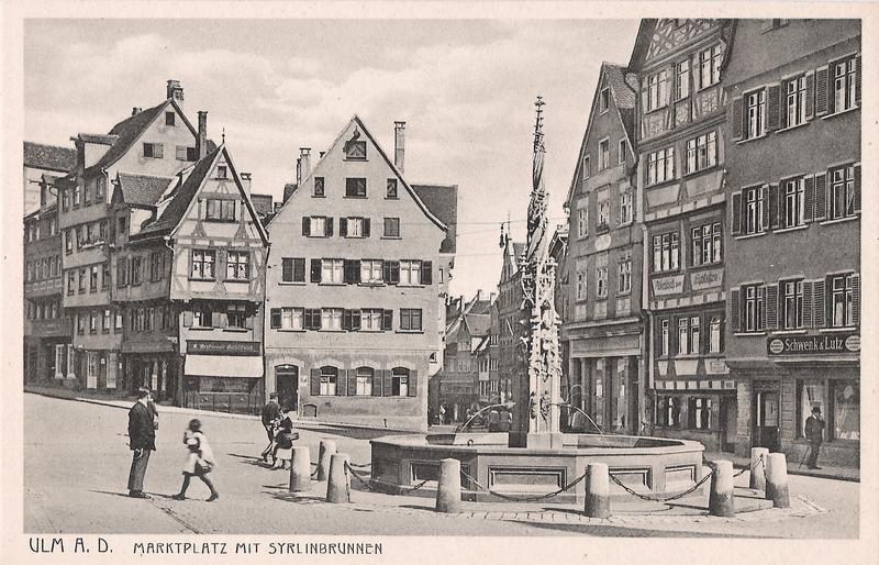 Der Marktplatz ca. Anfang der 30er Jahre