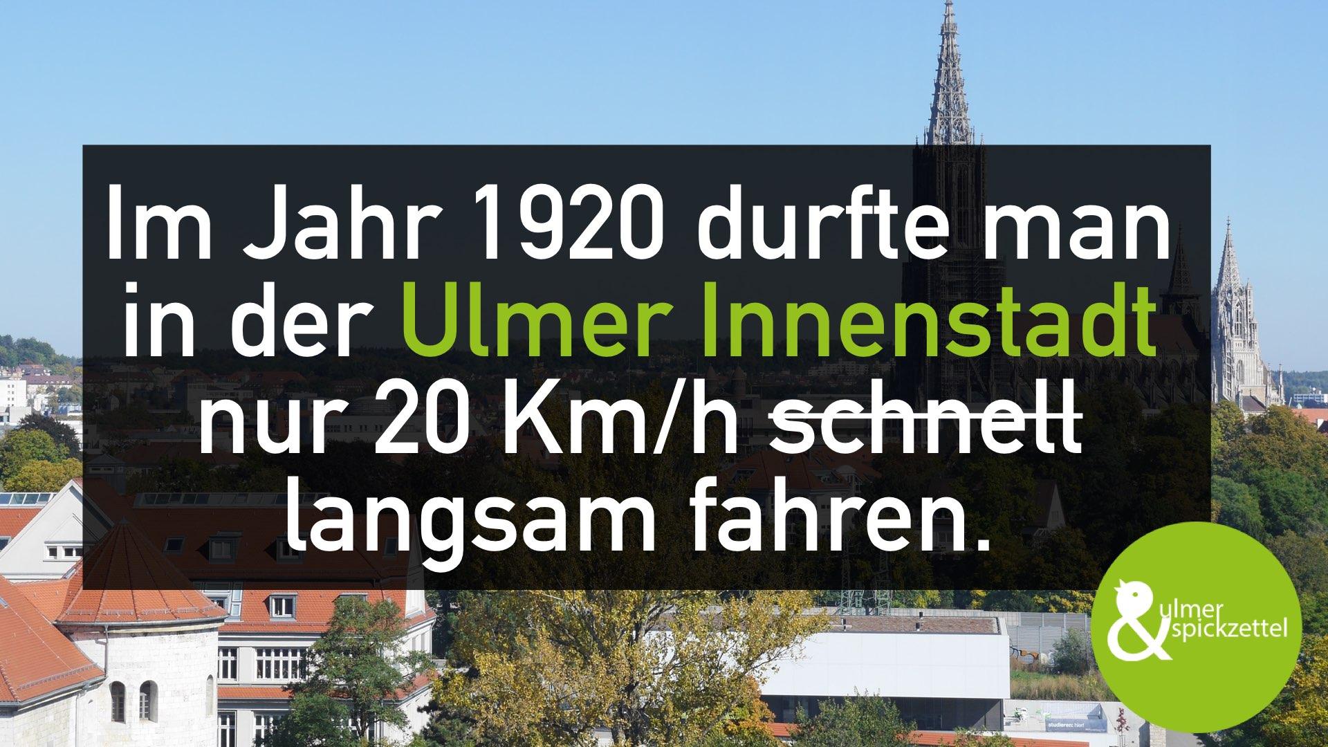 Aufgrund von Baustellen gehts grad in Ulm auch nicht viel schneller :-)