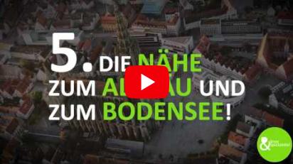 10 Gründe, warum es sich lohnt ein (Neu-)Ulmer zu sein!
