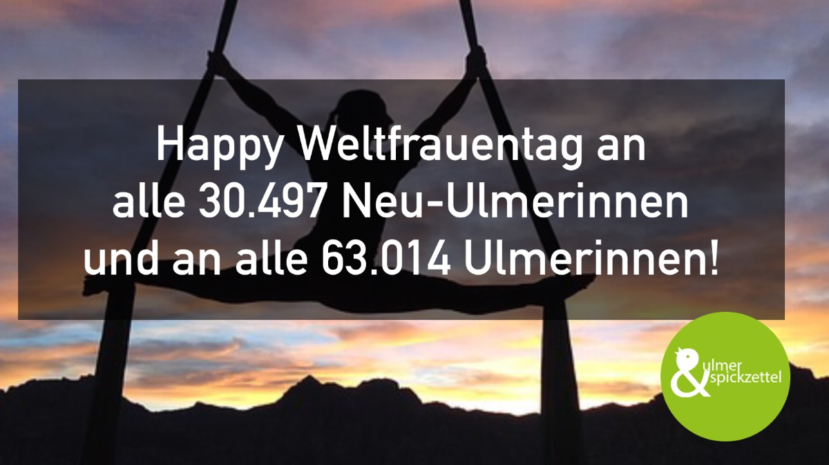 Happy Weltfrauentag!