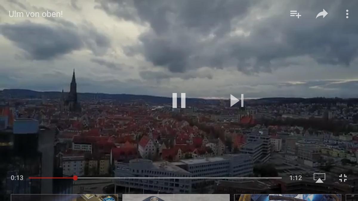 Ulm von oben!