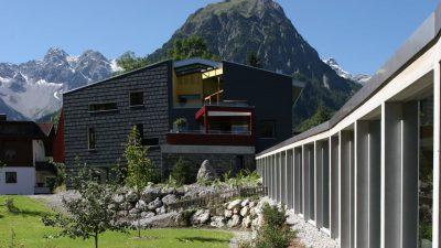 Walliserhof in Österreich: Design und Natur