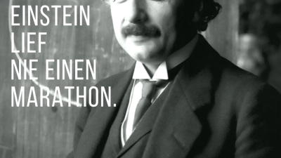 Albert Einstein war nicht gerade als Sportskanone bekannt