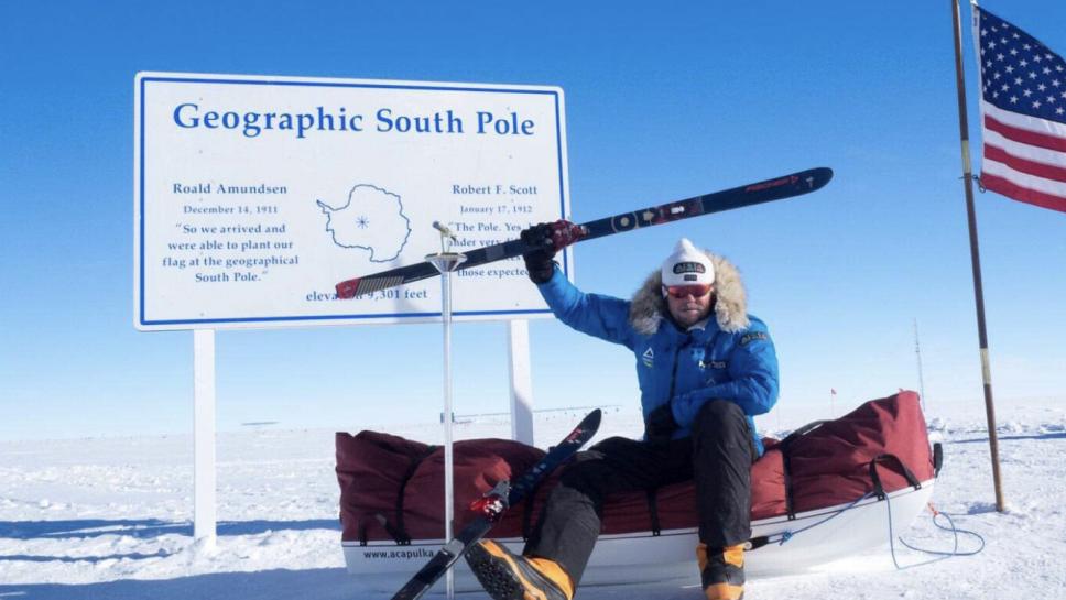 Dieser Ulmer war schon am Südpol