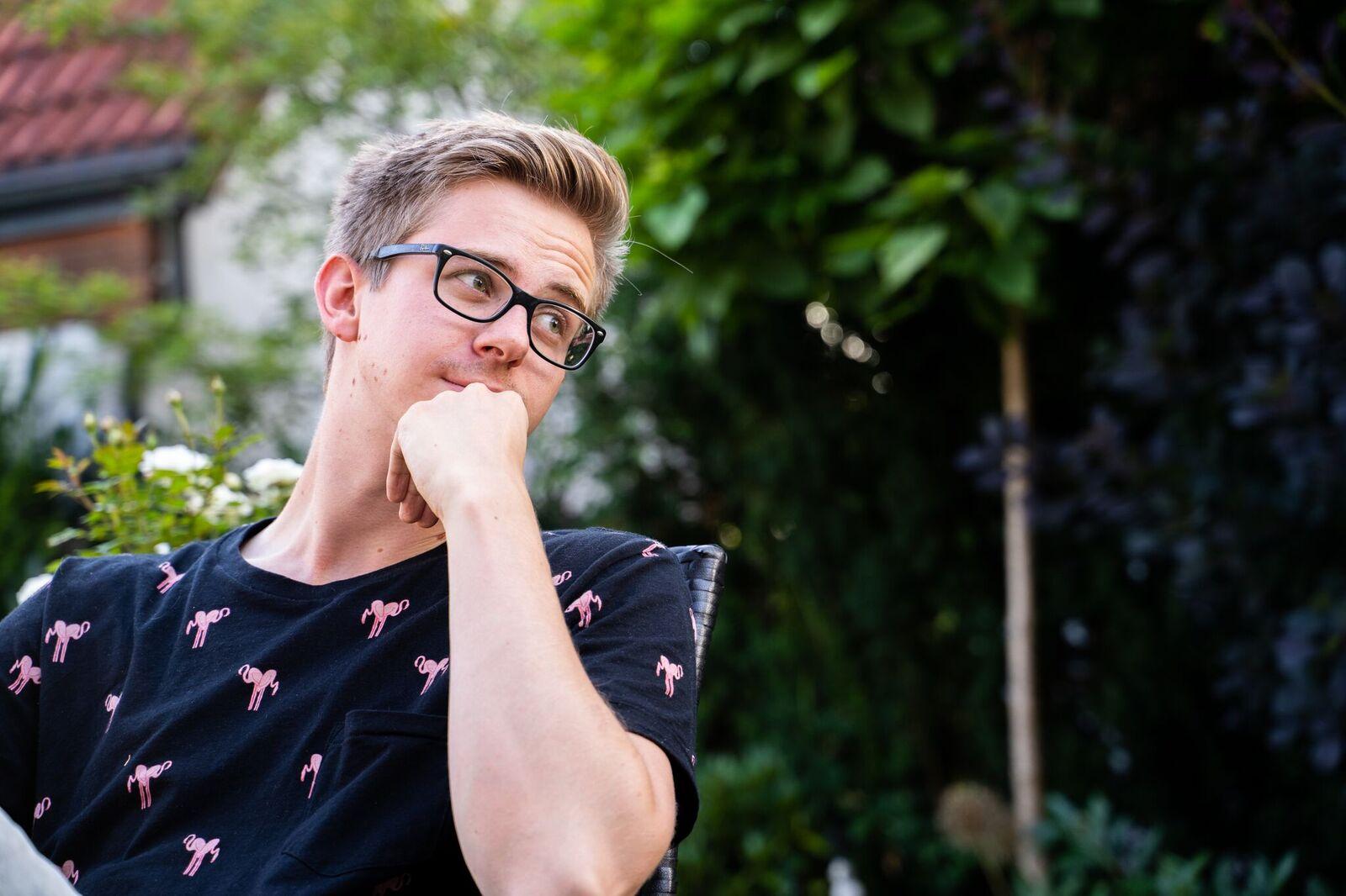 Dieser junge Mann will die (Neu-)Ulmer Start-Up-Szene auffrischen