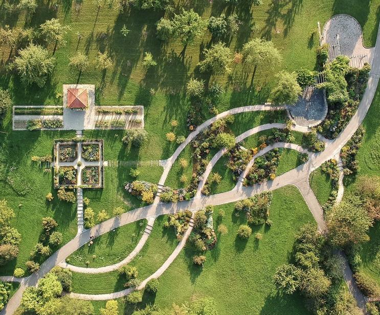 Der botanische Garten der Uni Ulm